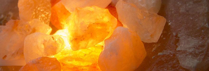 Lampe de sel d'Himalaya